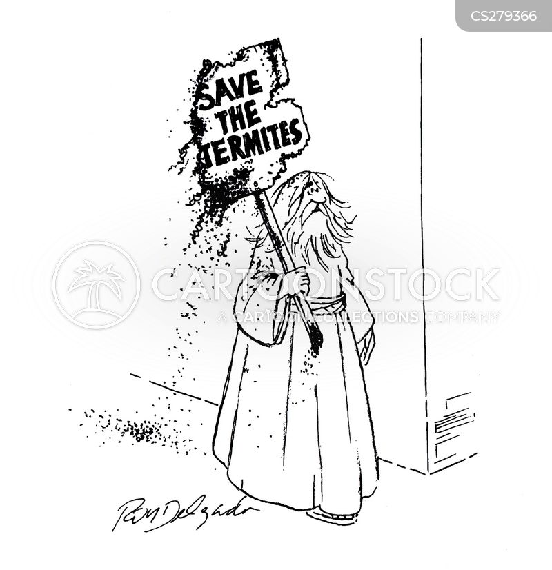protest signs cartoon