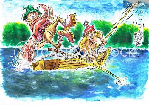 fishing story cartoon