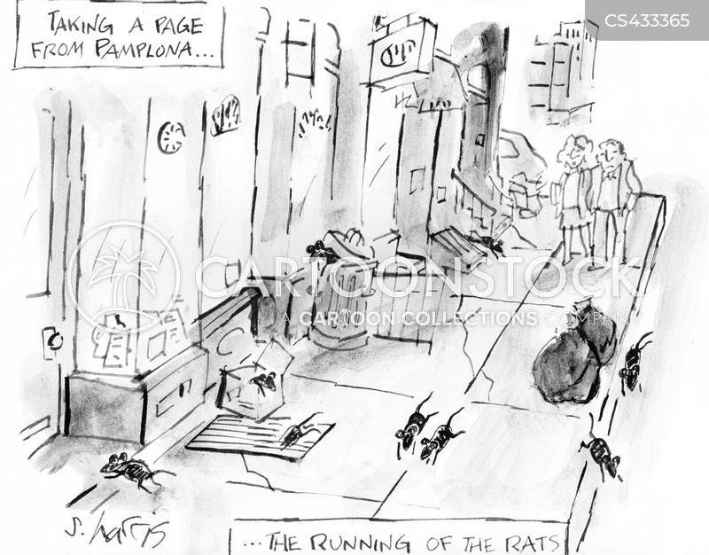 urban problems cartoon