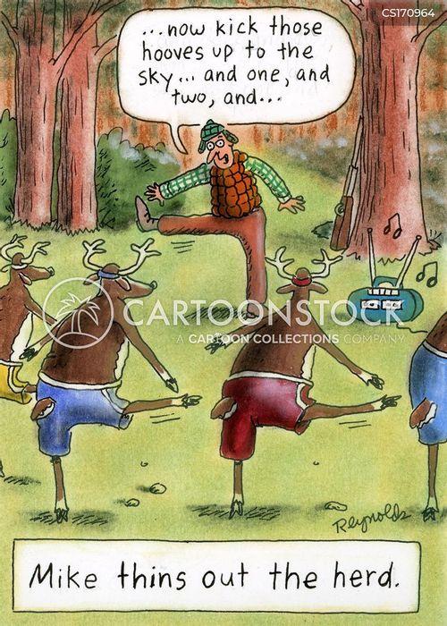 cattle herd cartoon
