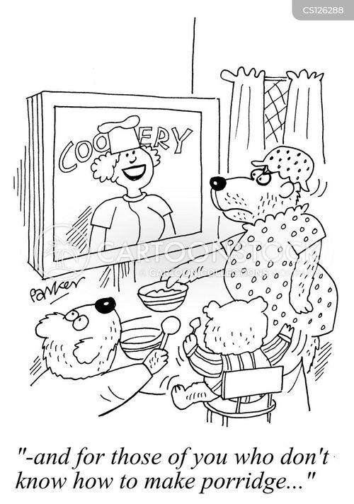 the 3 bears cartoon