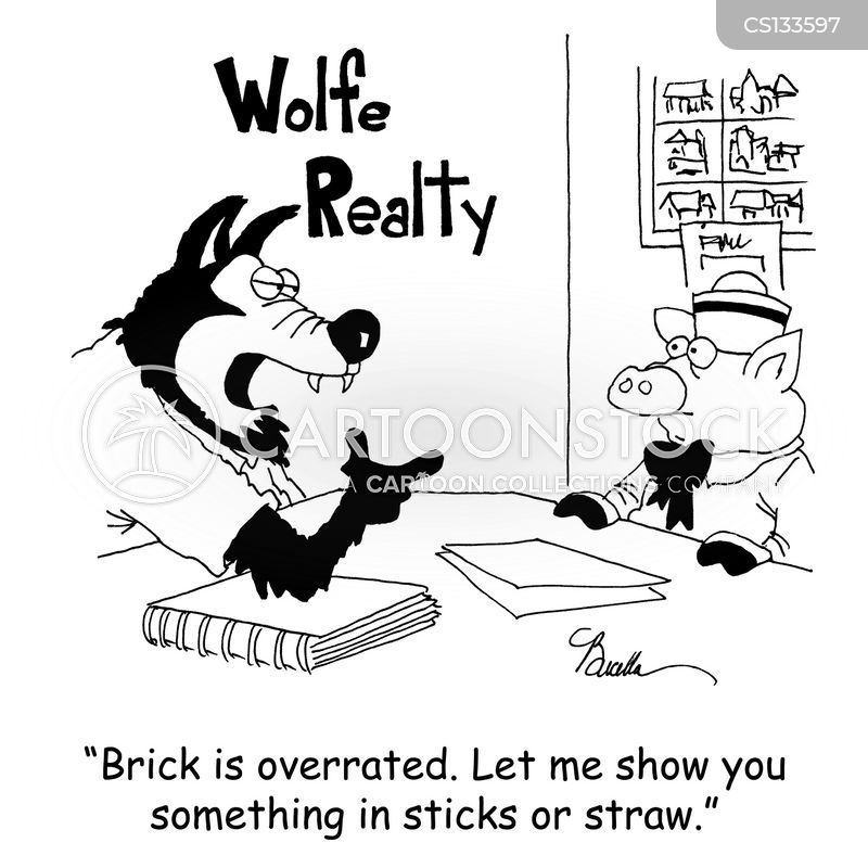 bricks cartoon