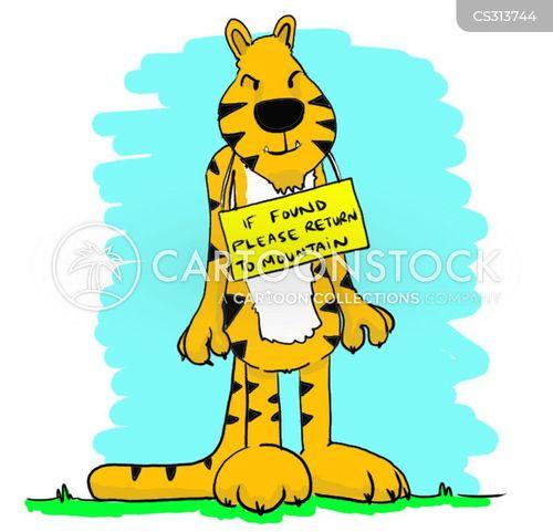 endangered creature cartoon