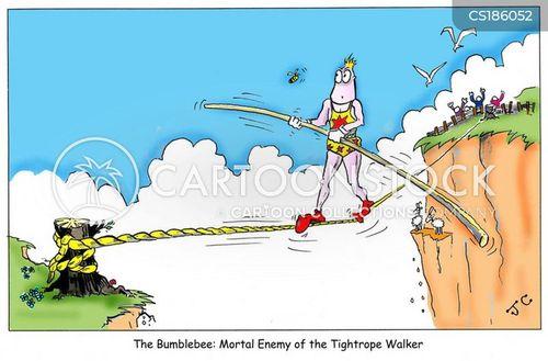 tightropes cartoon