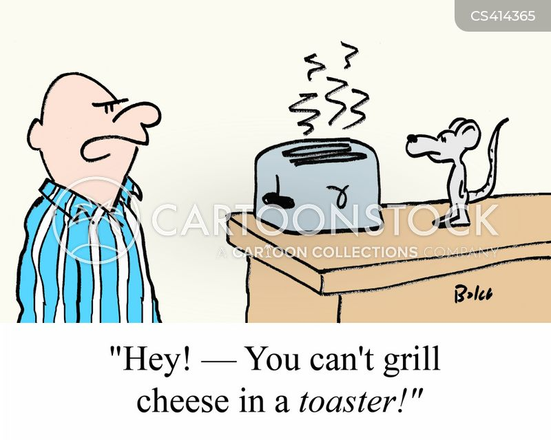 grilled cheese cartoon