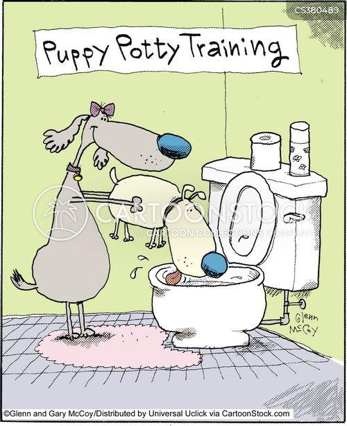 potties cartoon