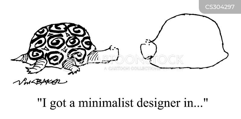 minimalists cartoon