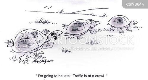 crawl cartoon