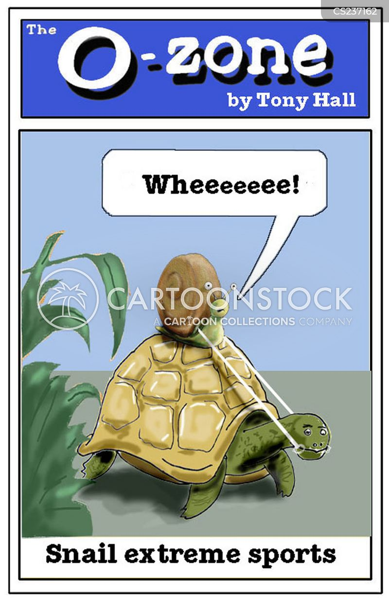 slow pace cartoon