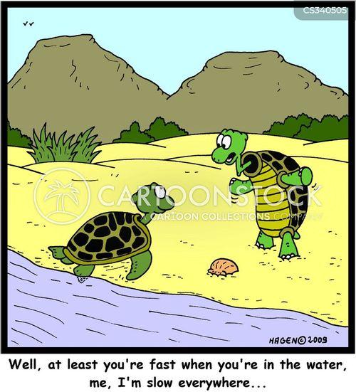 fast moves cartoon