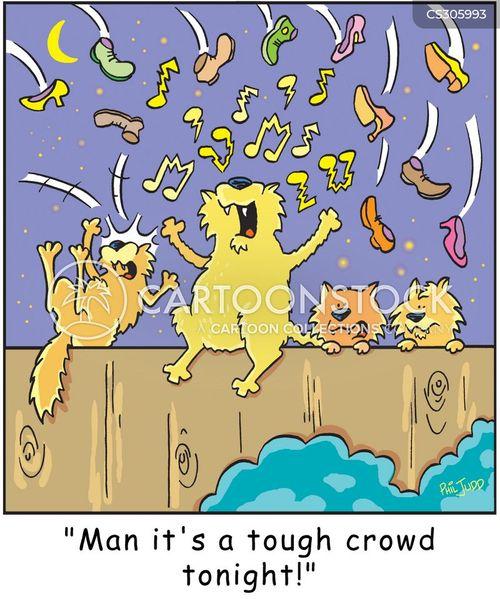 tough crowds cartoon