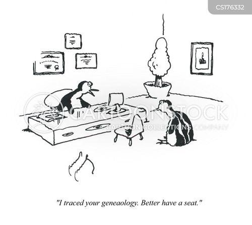 family tree cartoon