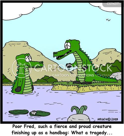 crocodile skin cartoon