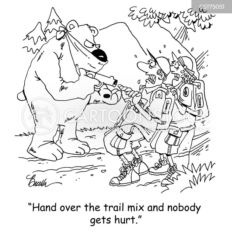 trail mix cartoon