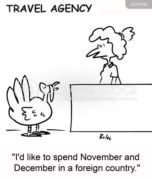 december cartoon