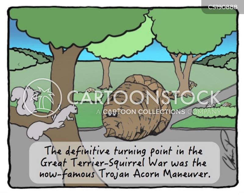 trojan war cartoon