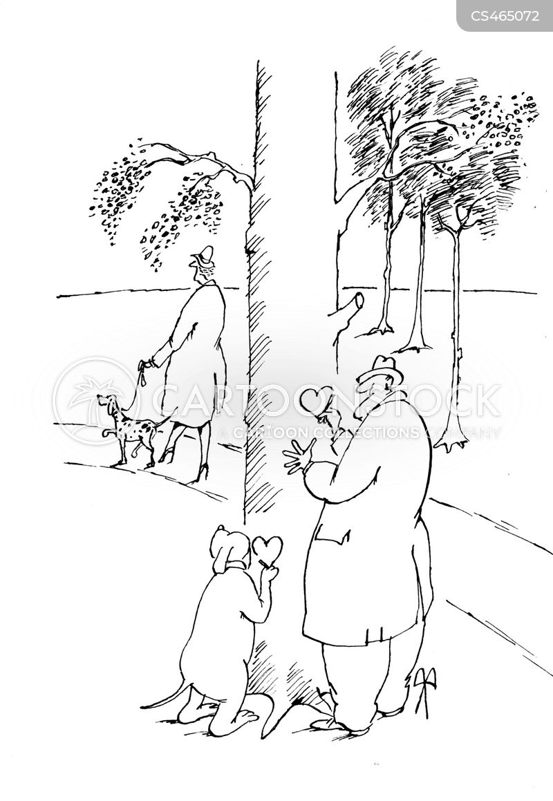 tree carvings cartoon