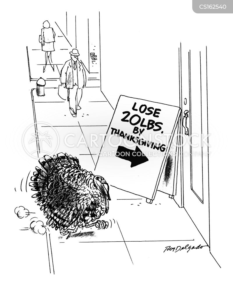 lost weight cartoon