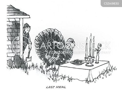 last meal cartoon