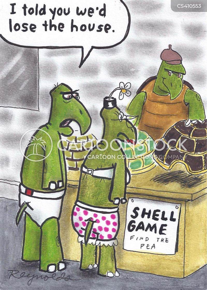 Shell Game cartoons, Shell Game cartoon, funny, Shell Game picture, Shell Game pictures, Shell Game image, Shell Game images, Shell Game illustration, Shell Game illustrations