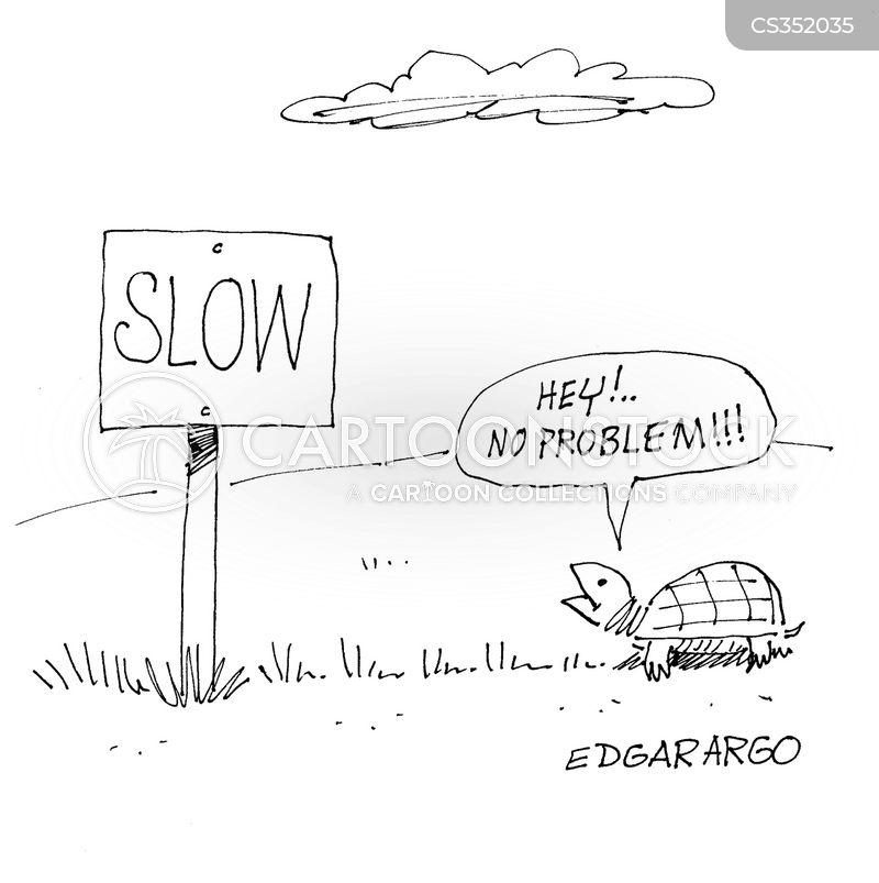 slows cartoon