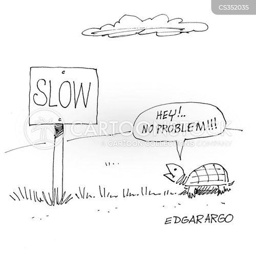 slowed cartoon
