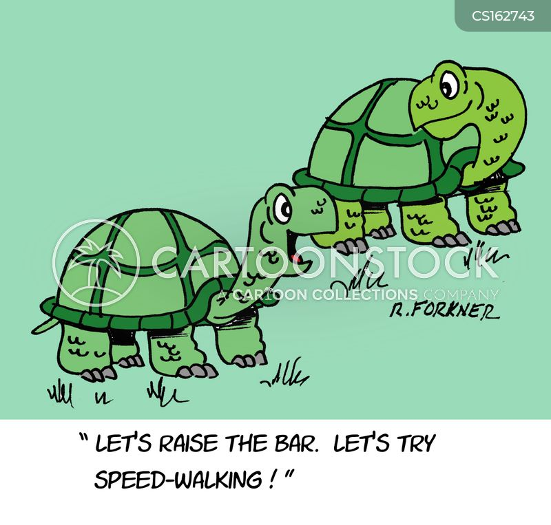 physical fitness cartoon