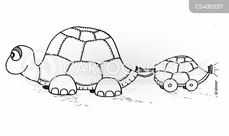 Turtle Shell Cartoons And Comics Funny Pictures From Cartoonstock