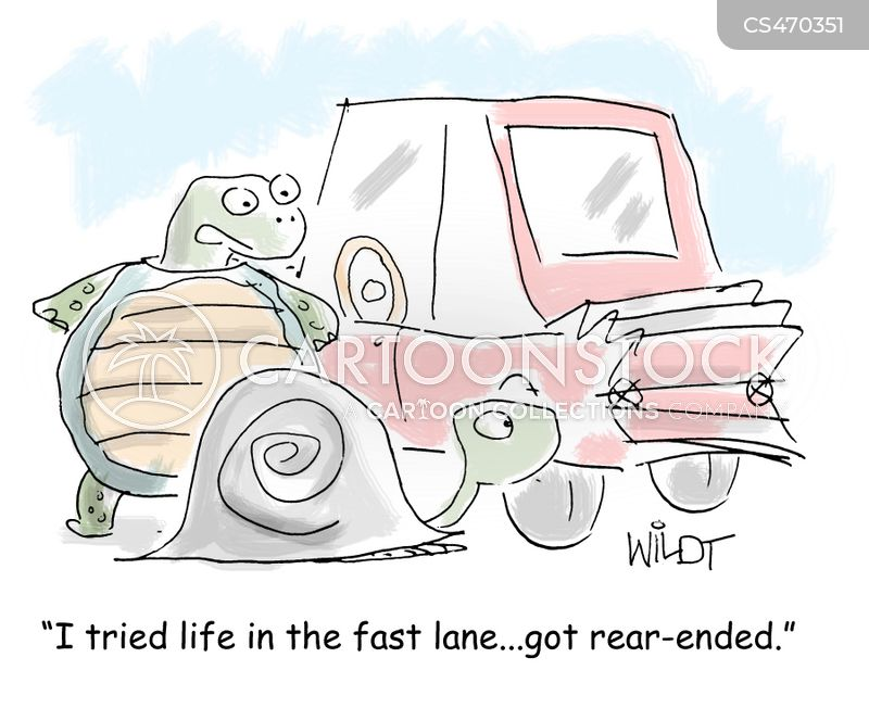 Rear Ended Cartoons And Comics Funny Pictures From Cartoonstock