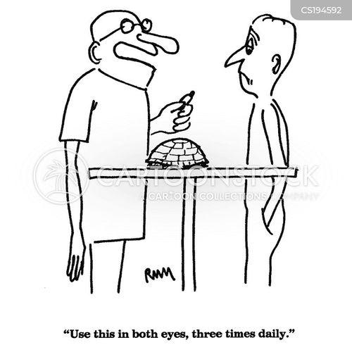 eye drop cartoon