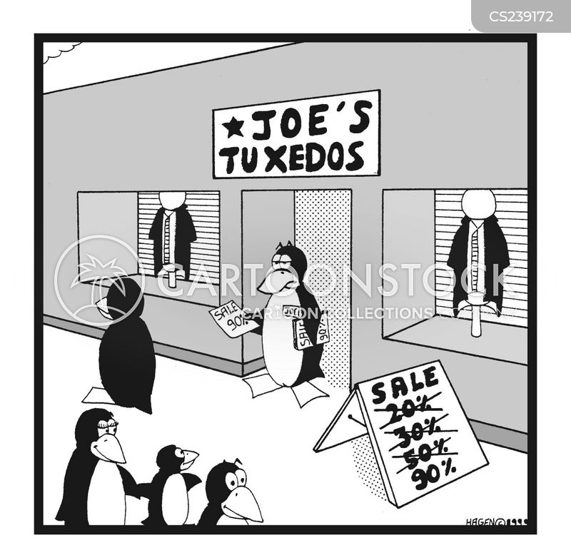 tuxedo suit cartoons and comics - funny pictures from cartoonstock