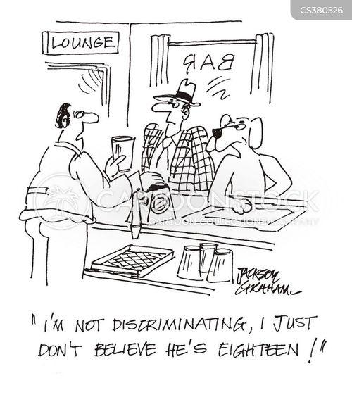 eighteen cartoon