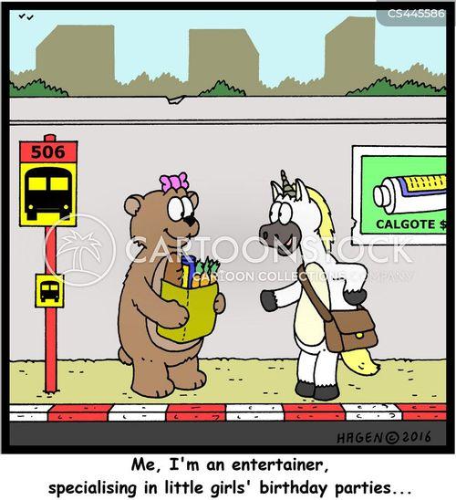 childrens entertainers cartoon