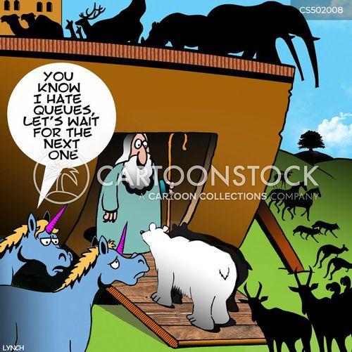 biblical floods cartoon