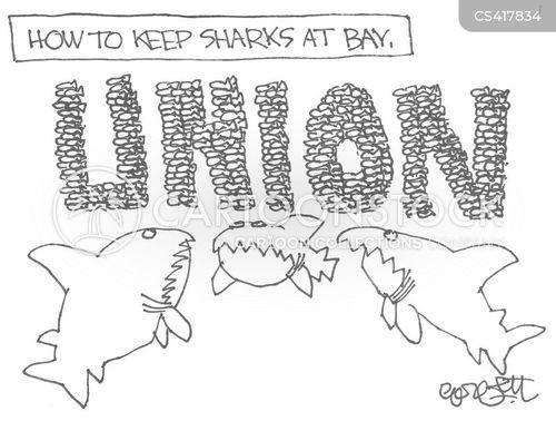 unionists cartoon