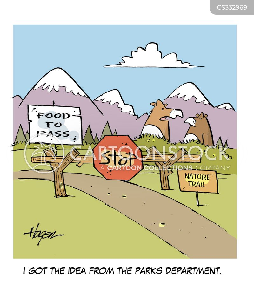 toll bridge cartoon