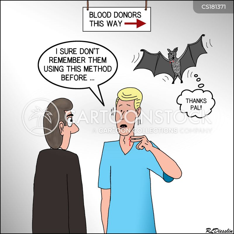 vampire bat cartoon