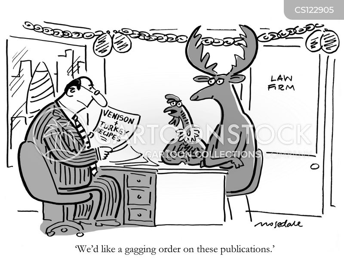 gag order cartoon