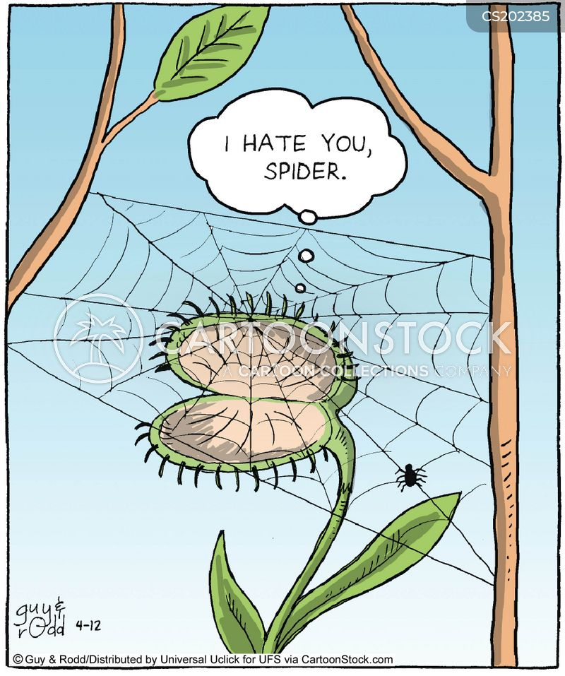 Venus Fly Trap Cartoons And Comics Funny Pictures From Cartoonstock