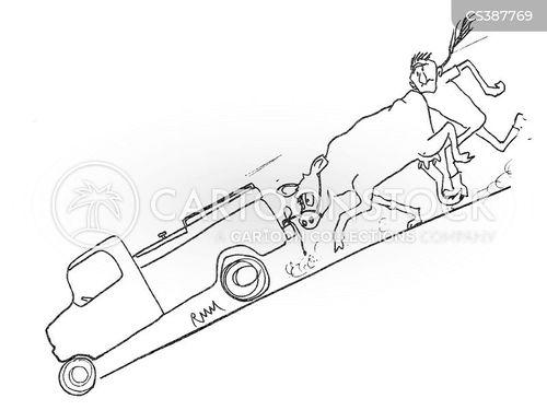 vet trucks cartoon