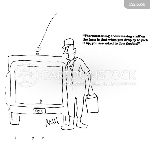 field visits cartoon