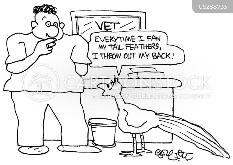 bad backs cartoon