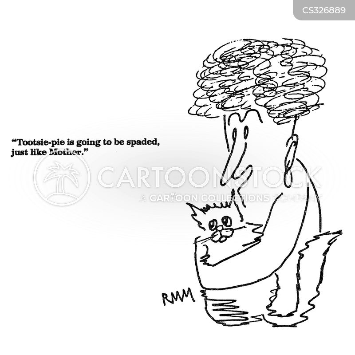 spays cartoon
