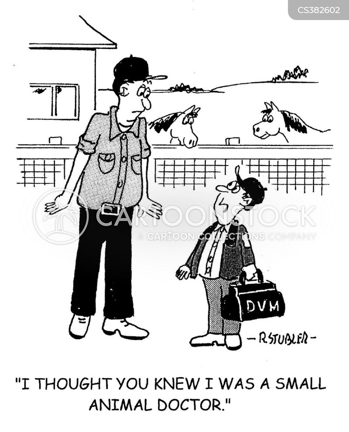 veterinary sciences cartoon