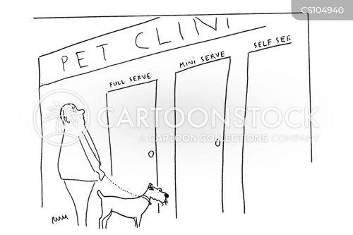 animal clinic cartoon