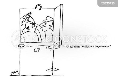 degenerate cartoon