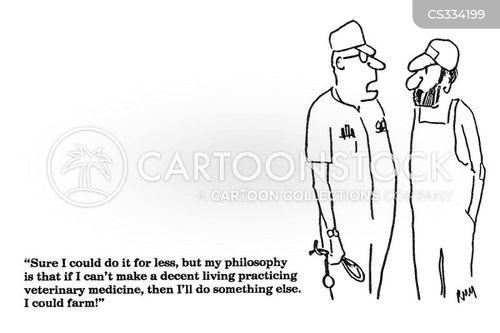 decent living cartoon