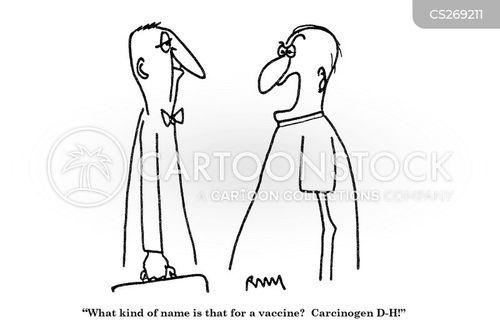 carcinogens cartoon