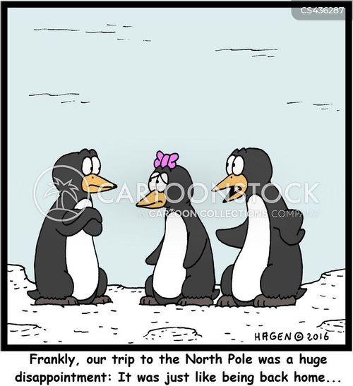 exotic destinations cartoon