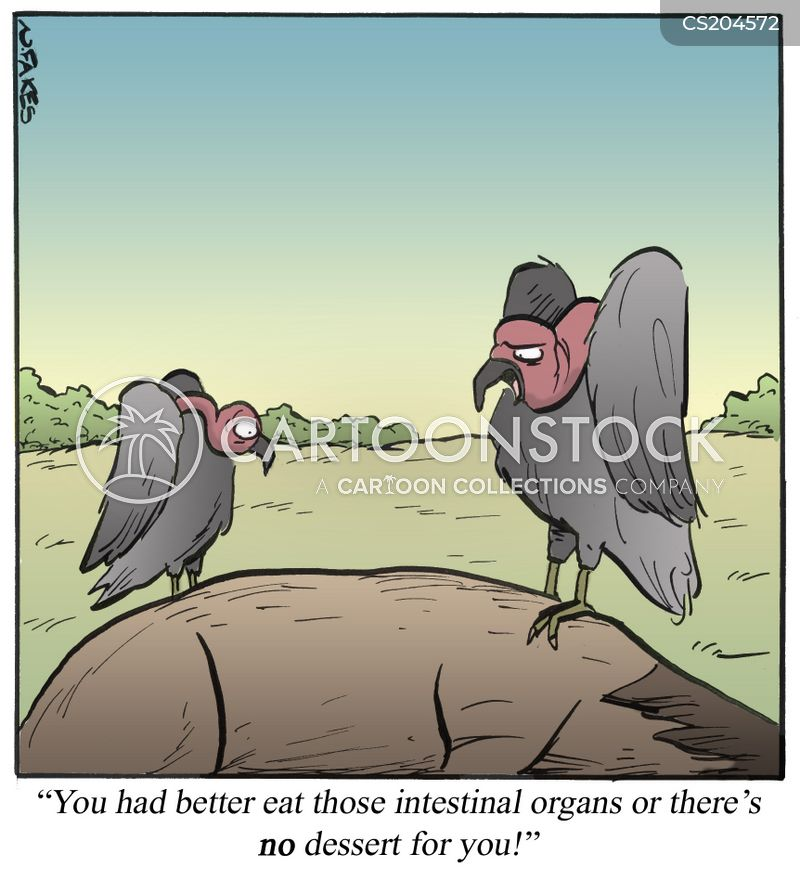 carrion crow cartoon